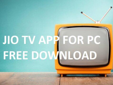 JIOTV APP FOR PC FREE DOWNLOAD