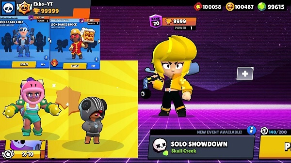 BRAWL STARS MOD APK FOR ANDROID AND PC
